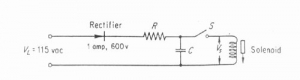 AC Pulse Operation of Solenoid